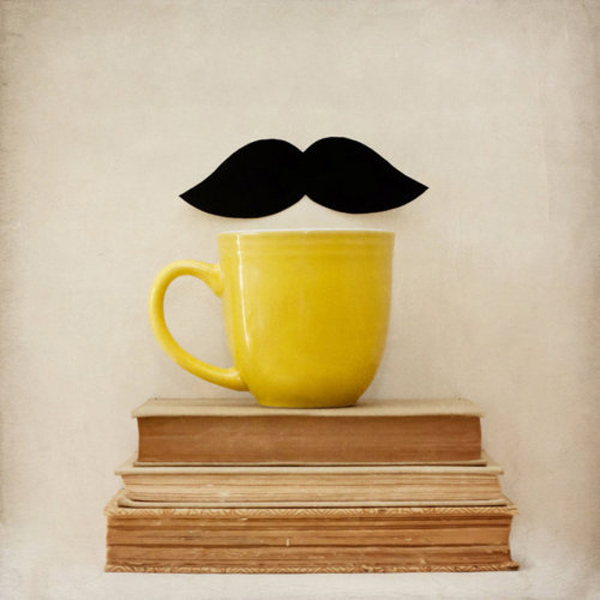 Cicada - Book - Mustaches - Design
