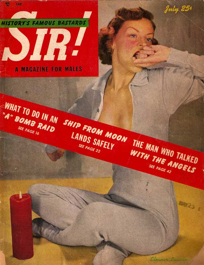 Sir ! - 1950 - Old vintage sexy magazine
