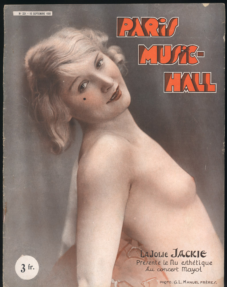 Paris Music-Hall -1930 - Old vintage sexy magazine