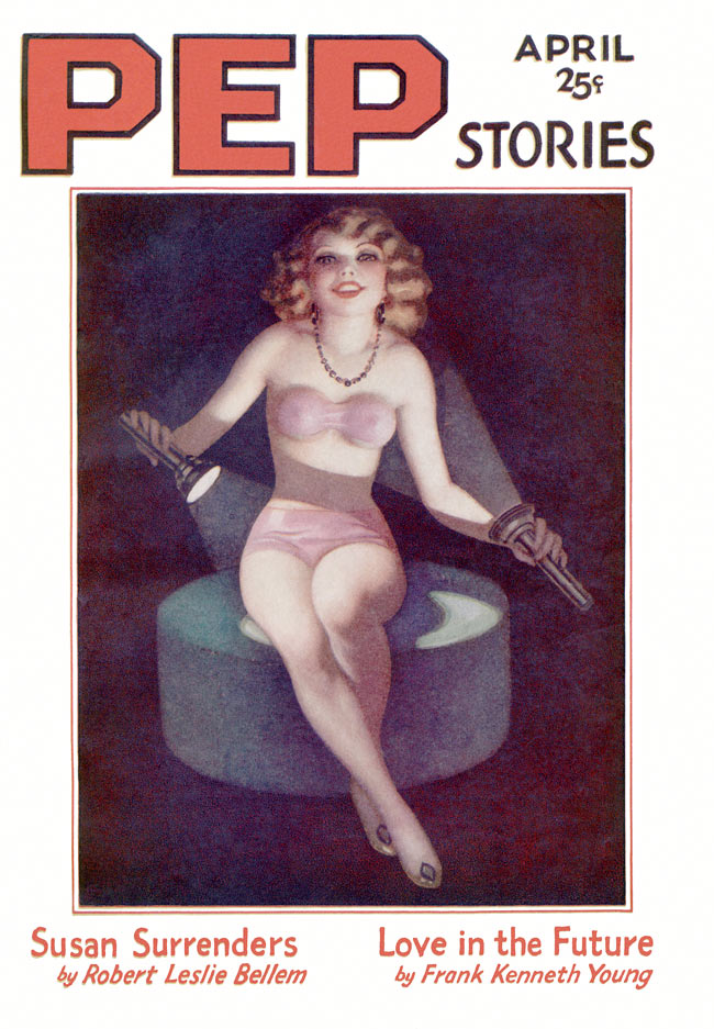 PEP Stories - 1932 - Old Vintage sexy magazine