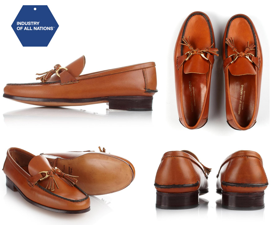 Industry Of All Nation - Portenos Saddle Loafers