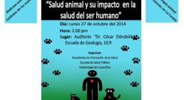 Foro Salud Animal y su impacto en la salud del ser humano