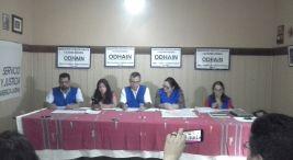 Conferencia de prensa violencia en territorios indigenas