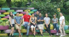 Voluntariado UNA por el ambiente en Junquillal