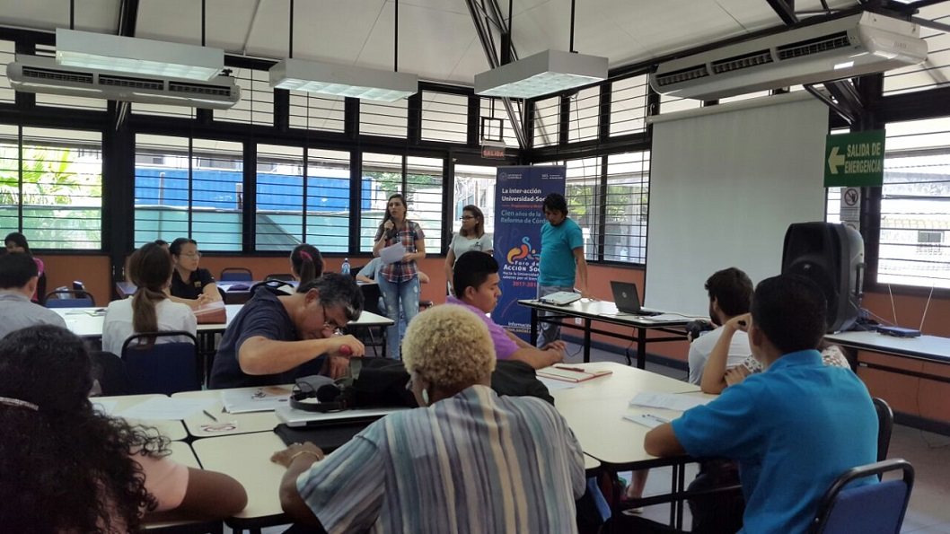 Sede del Caribe convoca a docentes y estudiantes para discutir sobre la acción social2