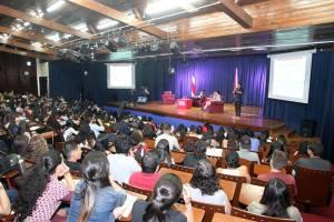 Conversatorio de la FEUNA con Carlos Alvarado4