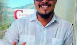 Estudiante hondureno Eduardo Urbina