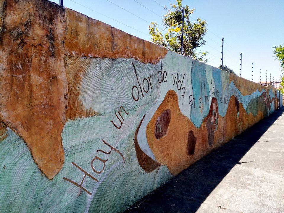 UCR Ramonenses celebran la poesía con murales por todo el canton3