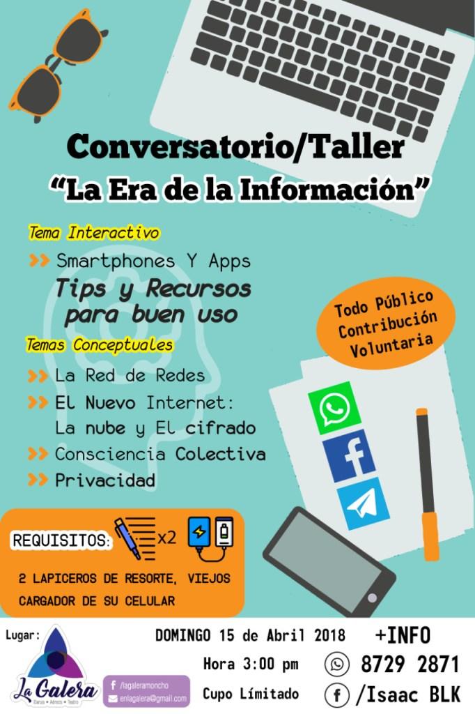 Conversatorio taller La Era de la Informacion