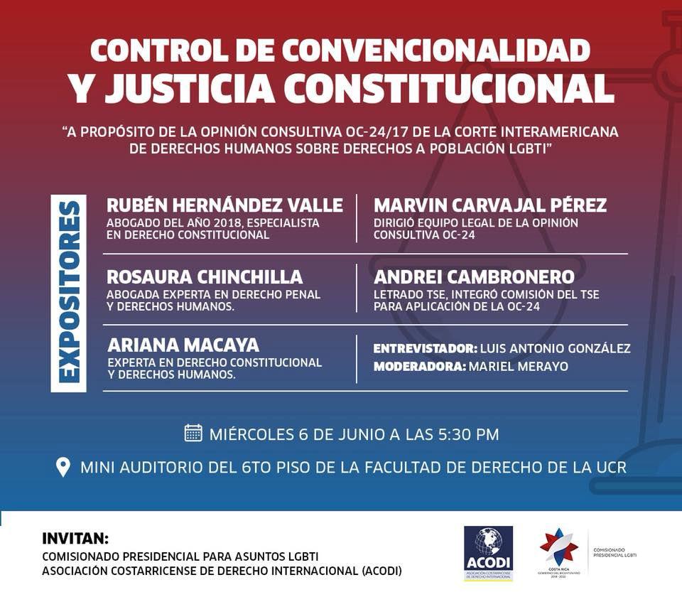 Foro Control de convencionalidad y justicia constitucional