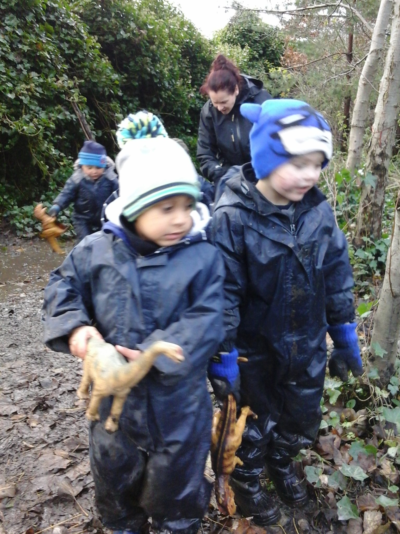 BCFC WCFC Forest School 27.11 (43)