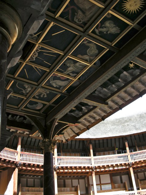 Shakespeare's Globe ceiling