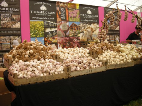 garlic at RHS Hampton Court flower show
