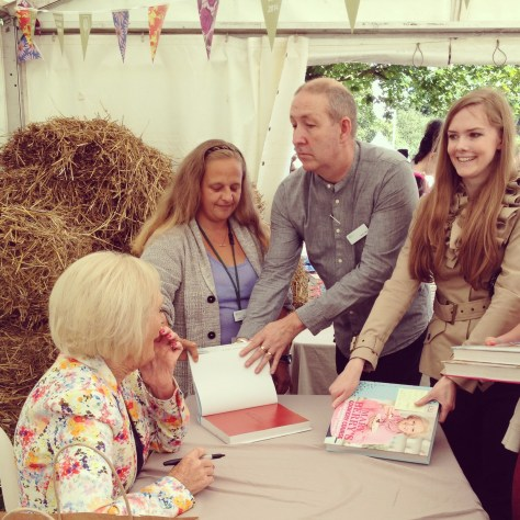 Mary Berry at Wisley