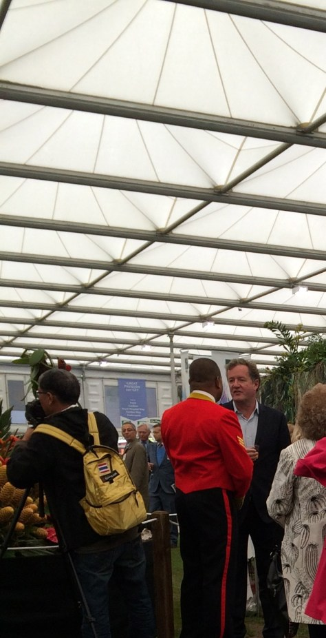 Piers Morgan Chelsea Flower Show