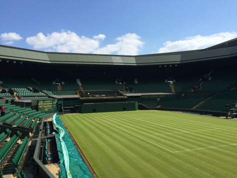 Wimbledon tennis courts pictures