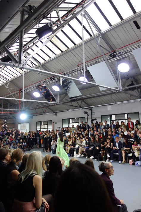 London Fashion Week day one