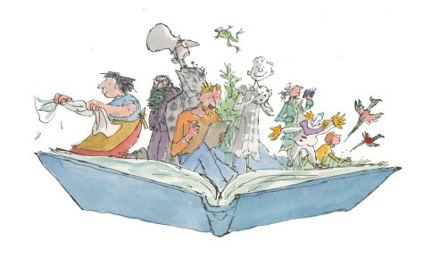 Illustration for Inside Stories © Quentin Blake