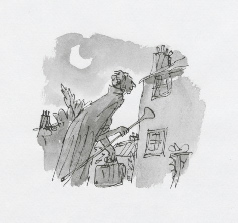 Illustration from The BFG © Quentin Blake