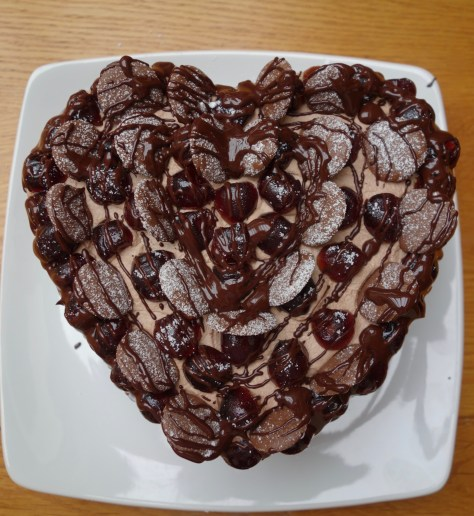 Valentine's Day pudding