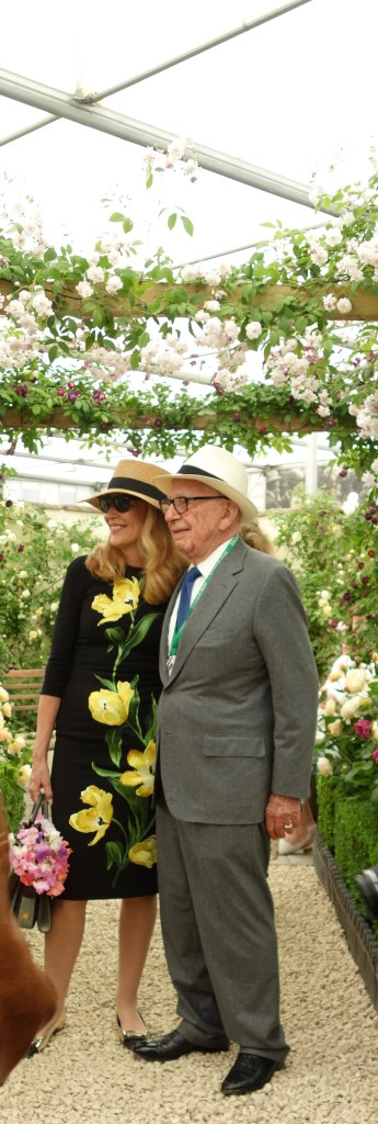 Jerry Hall Chelsea Flower Show