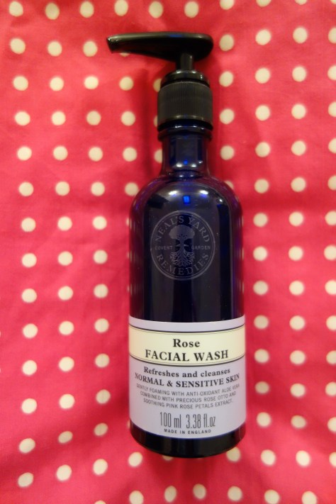 Neal's Yard rose facial wash