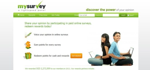 MySurvey Review Screenshot