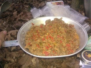 Dehydrated Camping Meal Making Your Own Camping Meals