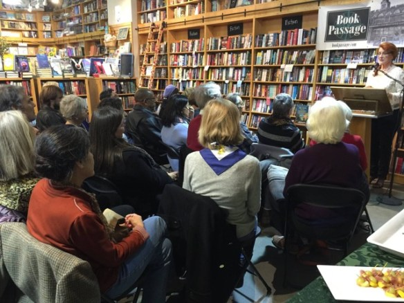 West Coast launch, Book Passage, San Francisco. December, 2015