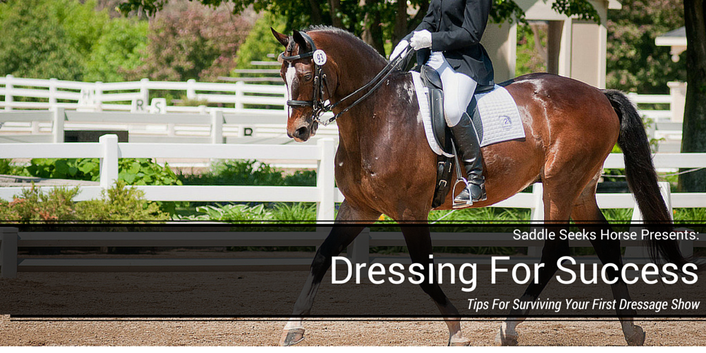 Tips for Surviving Your First Dressage Show