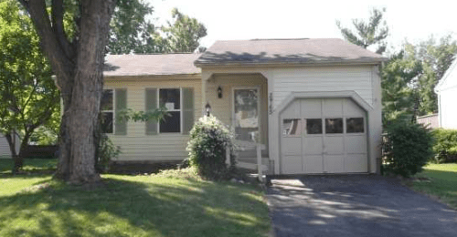 Least expensive home for sale in Dublin Ohio February 2013