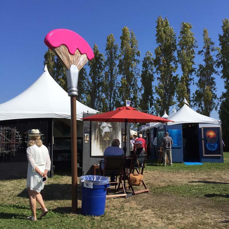 Sausalito Art Festival, Celebrating Sculpture