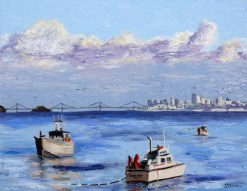 herring-boats-oil-by-susan-sternau