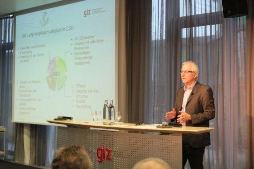 Einführung des Corporate Sustainability Handprint® in der GIZ