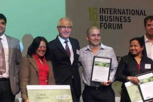 Jurypräsident des International Business Forum, Istanbul 2014
