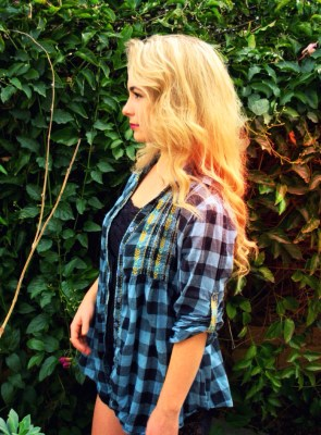thrifted flannel ecofashion environmental ethical fashion sustainability thrifting