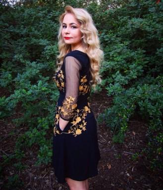 sustainable daisy eshakti dress sustainability ecofashion ethical fashion