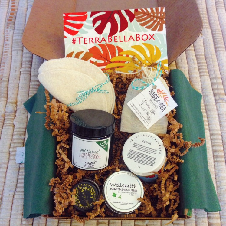 allnatural all-natural terra bella box subscription ecobeauty sustainability