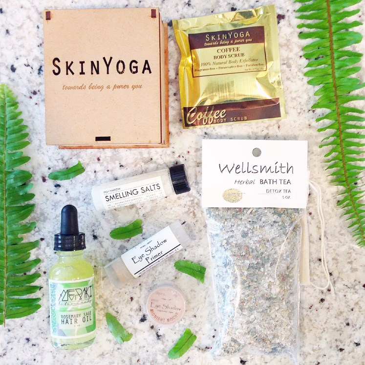 detox terra bella box subscription monthly all-natural non-toxic green beauty ecobeauty sustainable daisy sustainability eco-friendly blog blogger
