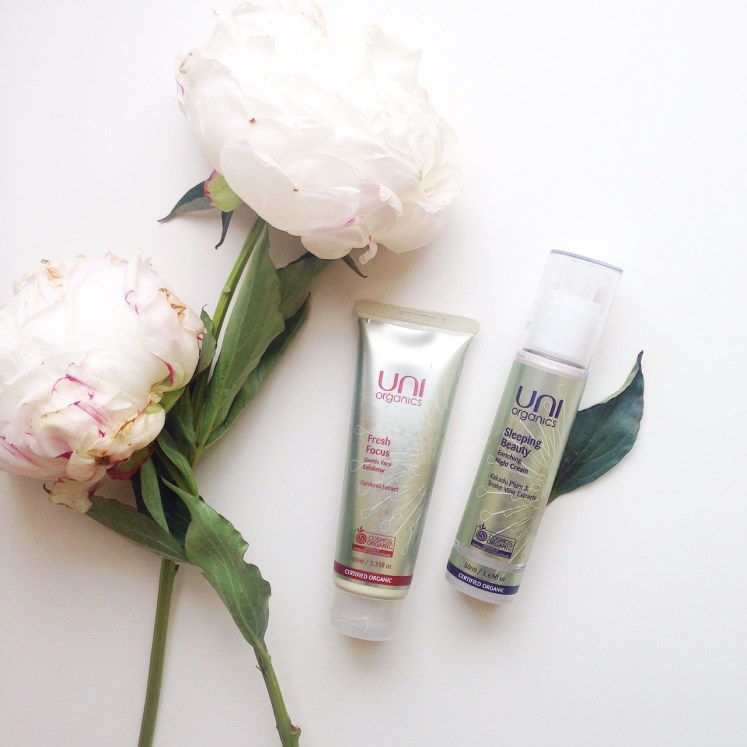 organic skincare beauty uni organics product revire sustainable daisy sustainability ecobeauty green scrub night cream blog blogger
