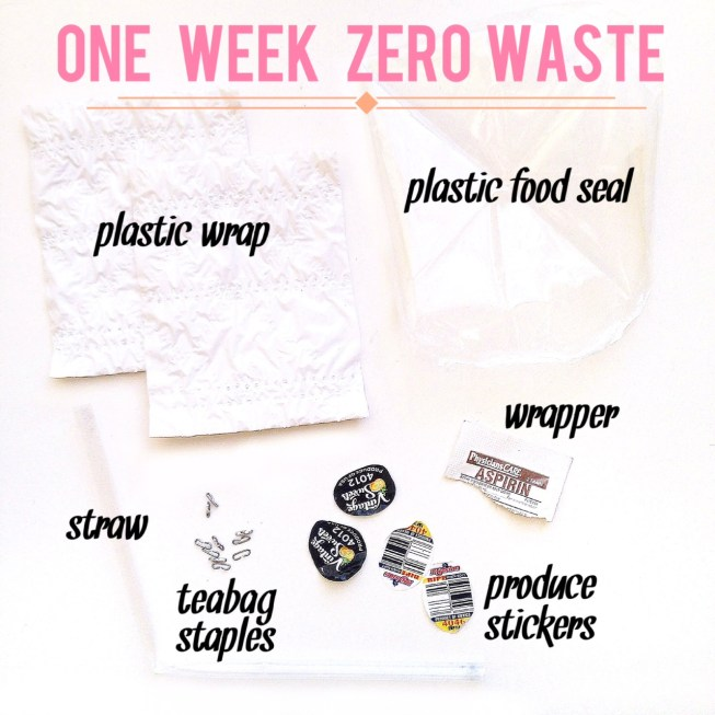 zerowaste zero waste trash one week challenge environmental environment sustainability sustainable go green reusables litter composting bamboo utensils mason jars