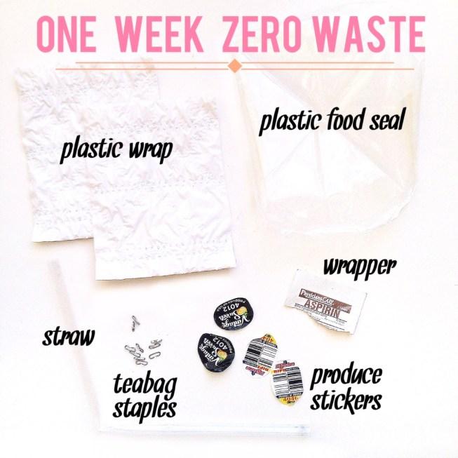 zerowaste zero waste trash one week challenge environmental environment sustainability sustainable go green reusables litter composting bamboo utensils mason jars