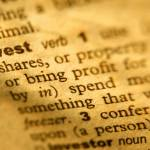 Dictionary definition of invest (part)
