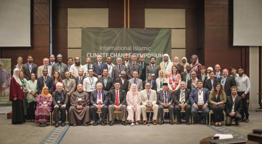 Picture of delegates at Islamic International Climate Change Symposium, Istanbul, 17-18 August 2015