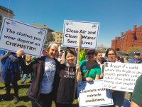 CSN students and colleagues at the Madison march