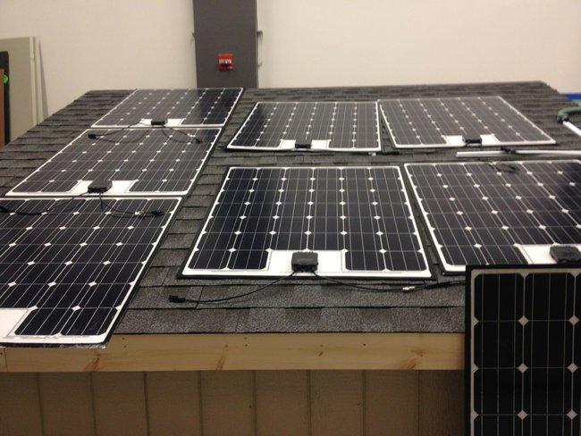 Fraunhofer solar panel