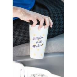 Small Crop Of Plain White Travel Mugs