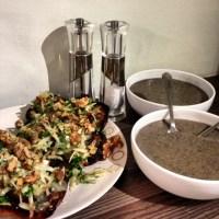 Jamie Oliver's 15 Minute Mushroom Soup
