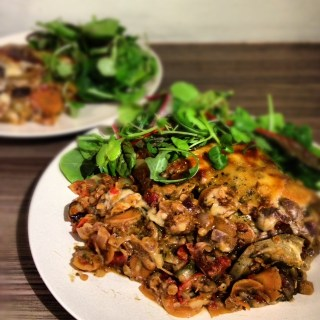 Veg and Lentil Moussaka