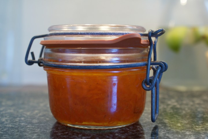 M&S carrot chutney